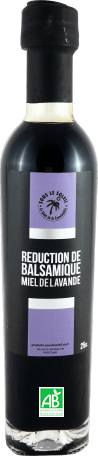 Réduction de Balsamique <br/> miel de lavande